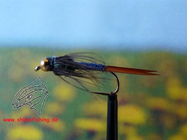 """Nymphe """" Copper John Blue """""""