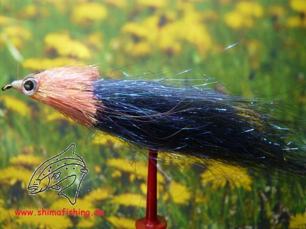 "Streamer "" Fiberfish Blue Orange """