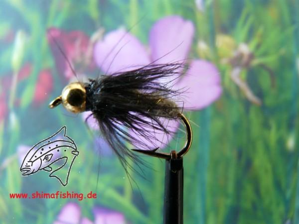 "Nymphe "" Caddis Larva Bead Head """