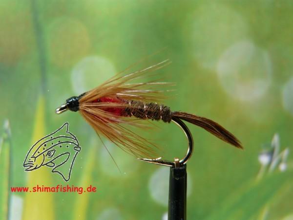 "Nymphe "" Pheasant Tail Red """