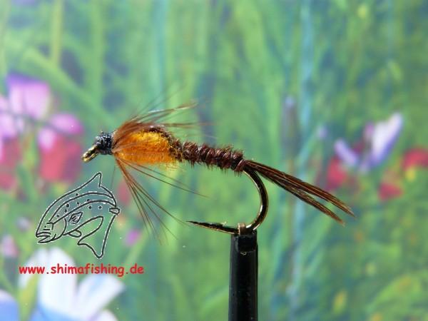 """Nymphe """" Pheasant Tail Orange """""""