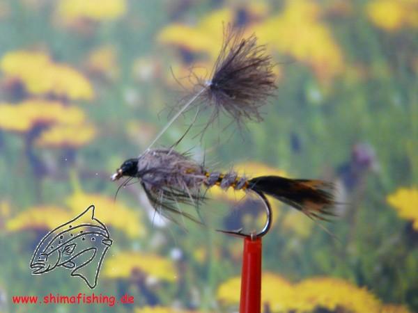 "Nymphe "" Parachute March Brown """