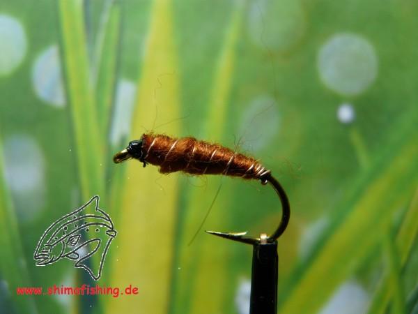 "Nymphe "" Killerbug Brown """