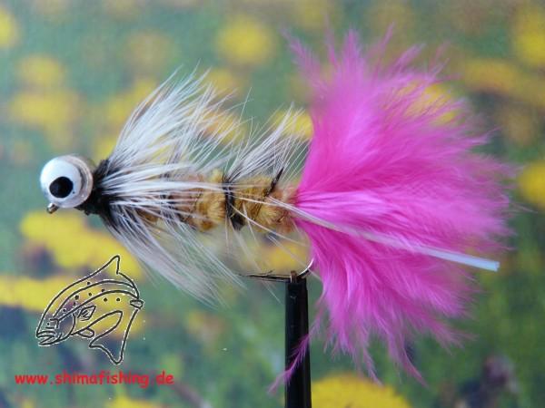 "Streamer "" Bead Eye Pink """