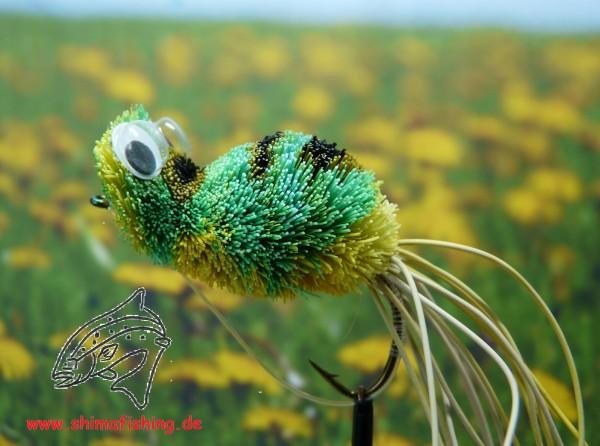 Hechtfliege Dancing Frog Green Yellow