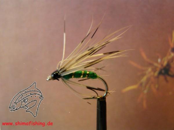 """Trockenfliege """" Mayfly Green """""""