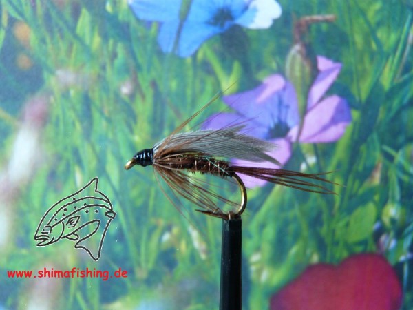 """Nassfliege """" Pheasant Tail Winged """""""
