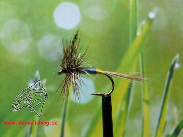 "Trockenfliege "" Adams Female "" auf Schonhaken/ barbless hook"