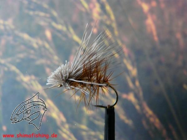 """Trockenfliege """" Elk Caddis Natural """""""