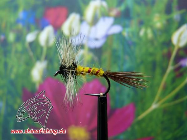 """Trockenfliege """" Mayfly Spinner """" auf Schonhaken/ barbless hook"""